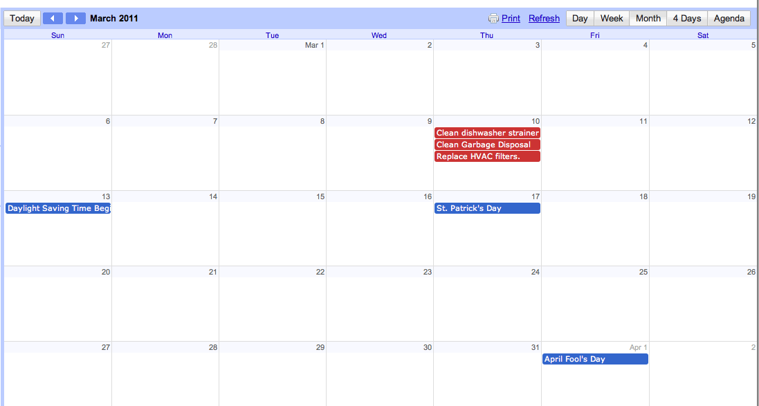 HomeSpot How-to: Gmail Calendar Feed
