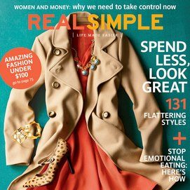 HomeSpot featured in Real Simple magazine