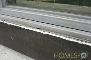 Inspect and repair the caulking seal around each window of your house