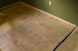 Preparation of the floor for wood installation is essential