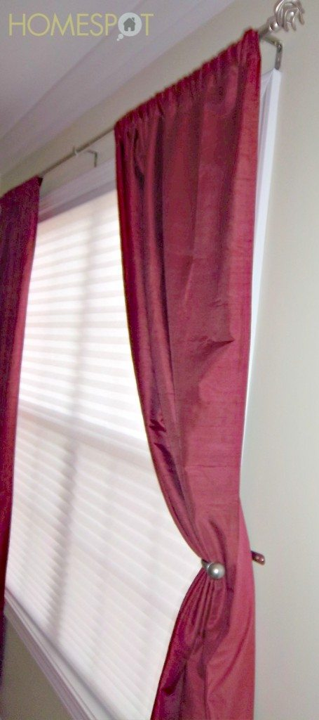 a great cheap home improvement is window treatments