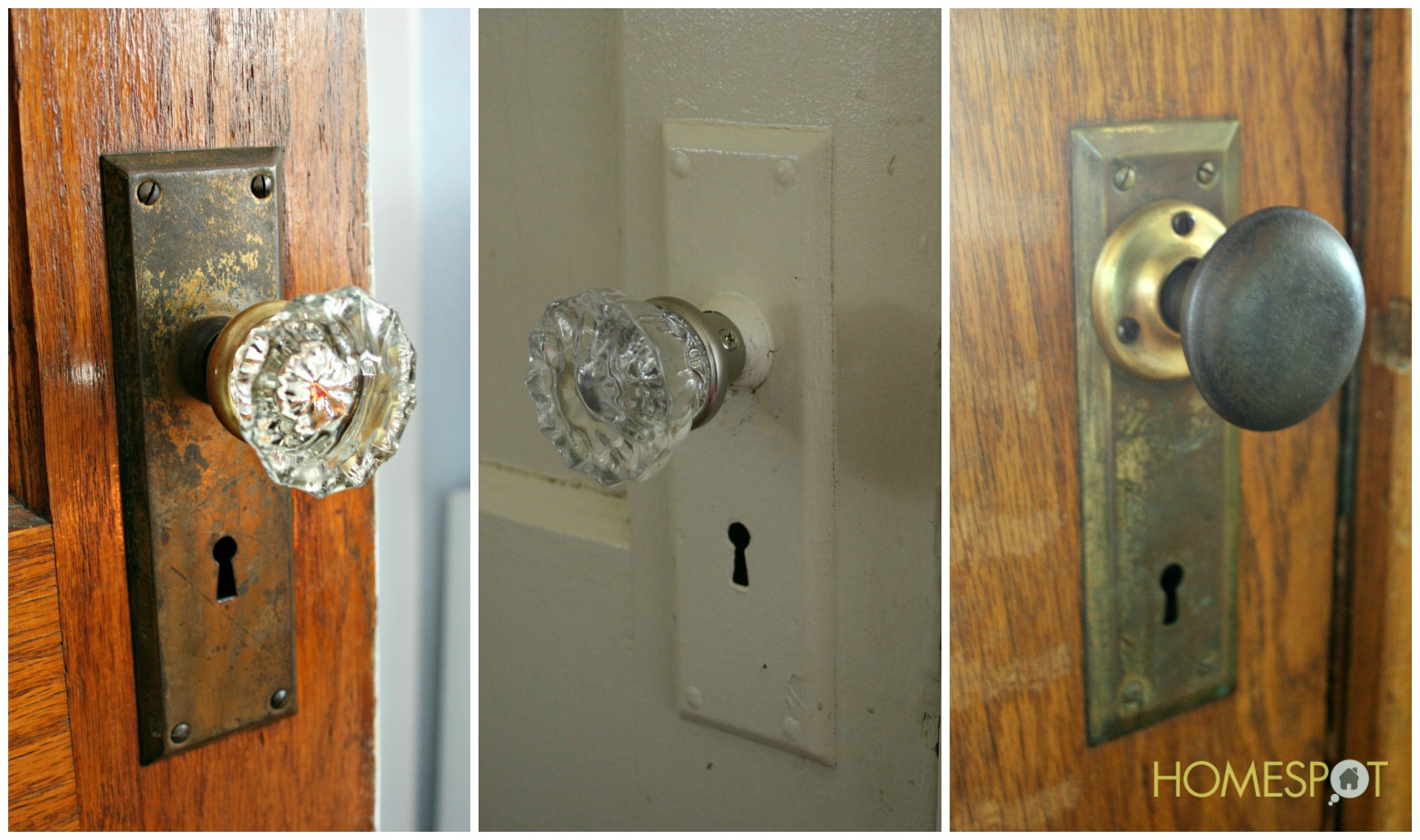 Perfect Vintage Door Knob. Crystal ...