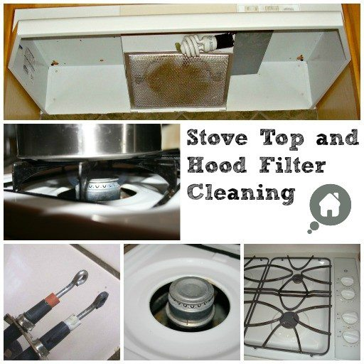 Keep the stove top and hood well maintained