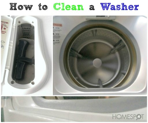 How To Clean The Washer