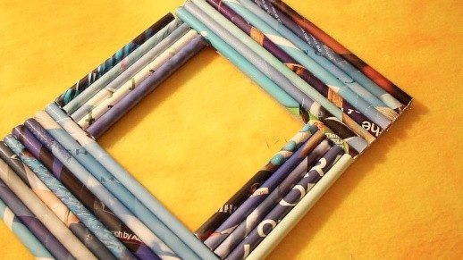 DIY Recycled Frames