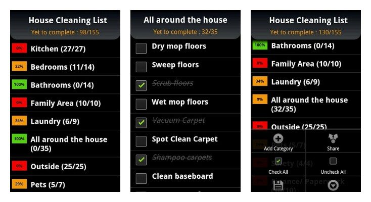 Have A Cleaning Schedule – How To Make It And Use It