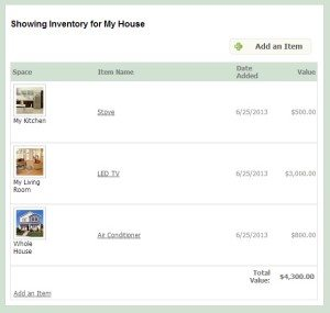 how to create a home inventory for insurance claims