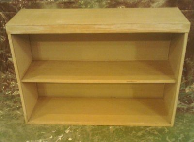 How to upgrade a simple bookcase