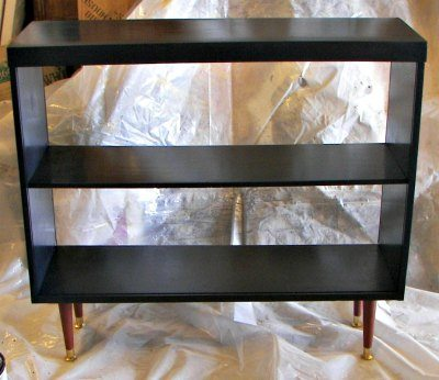 3-MCM-bookcase-painted-blk-with-stained-legs