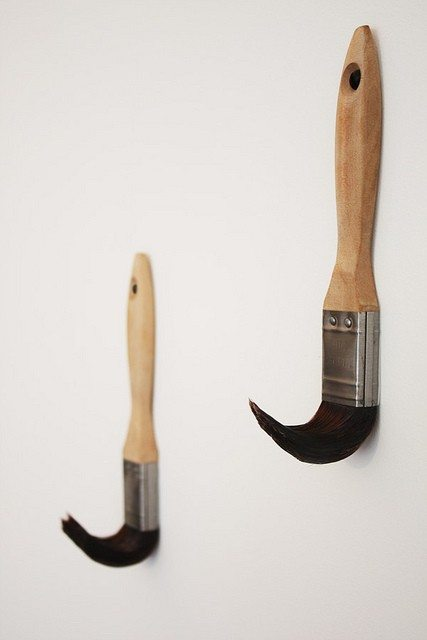 Great way to upcycle old paint brushes