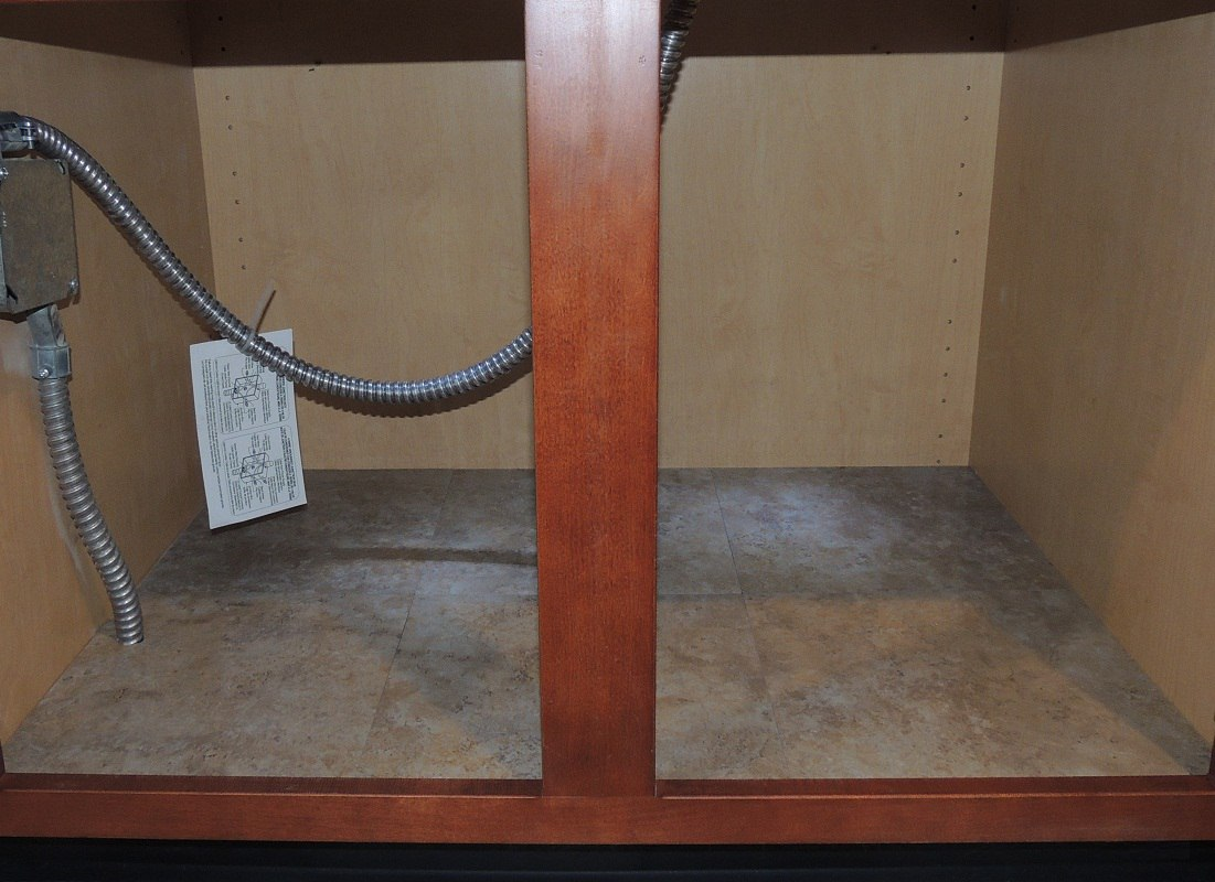 How To Tile Your Base Cabinet Floors