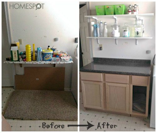 How to install simple base cabinets