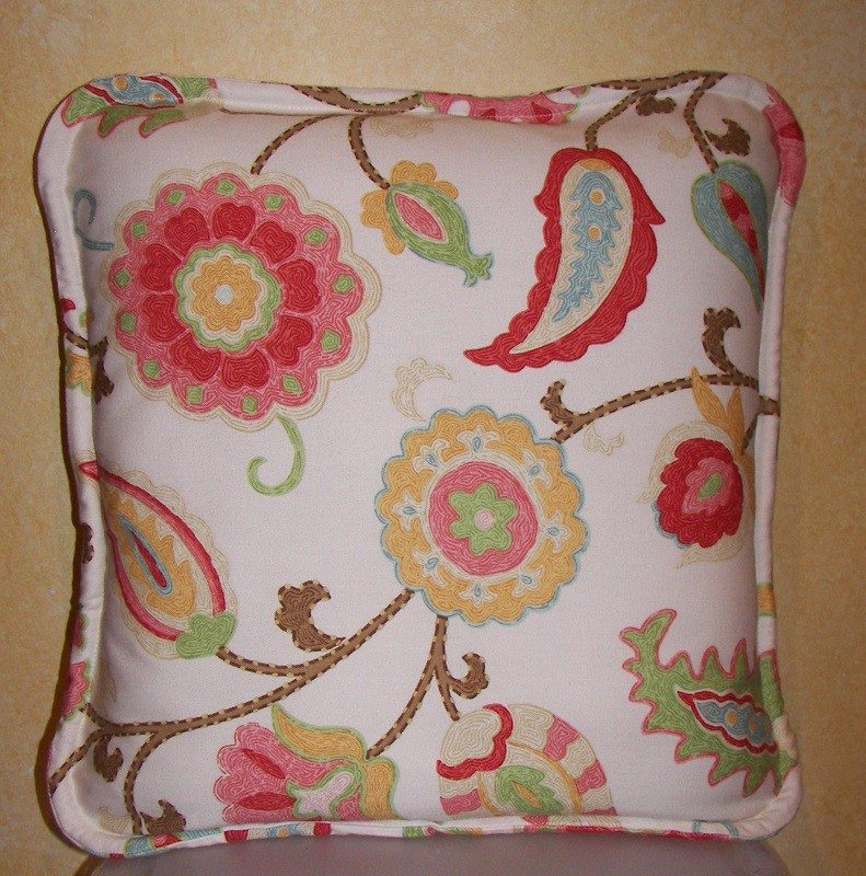 How To Make Decorative Throw Pillow Covers : How-to: Make a Self-Welted Envelope Pillow Cover - HomeSpot HQ Blog