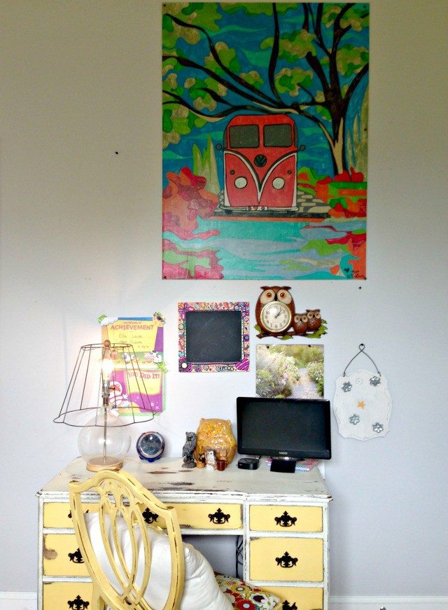 DIY Paint by Number Mural