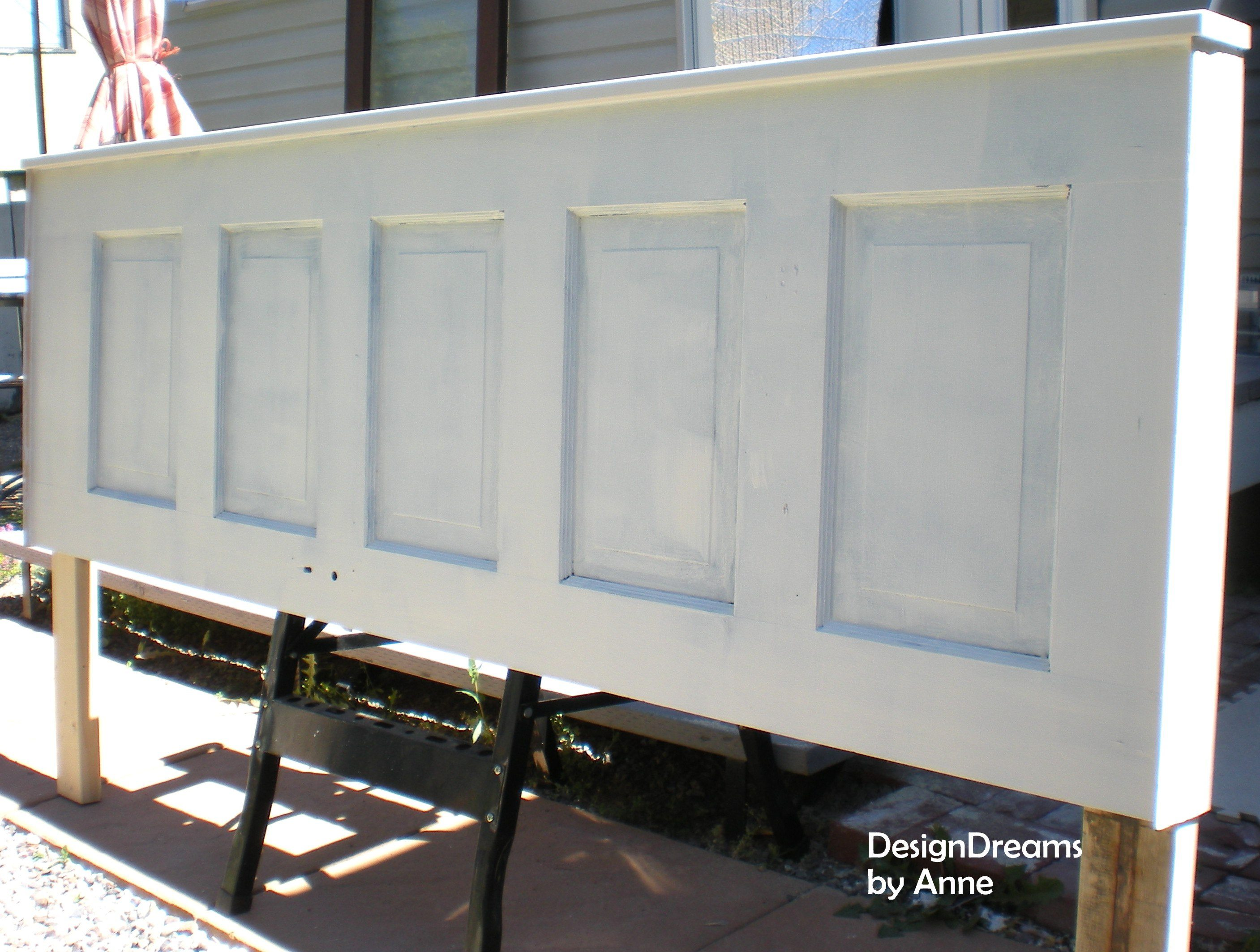 How to Build a Headboard from an Old Door