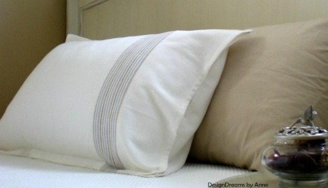 DIY Pillow Sham & Curtains for $6