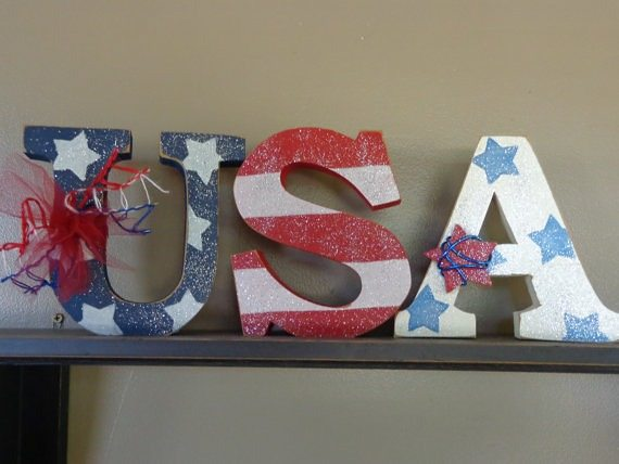 USA Block Letters