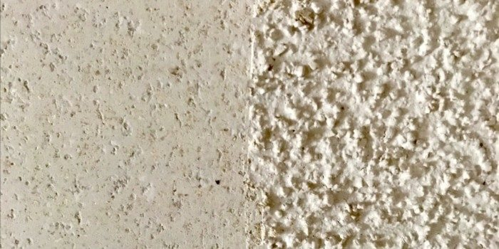 how to remove popcorn ceiling photo
